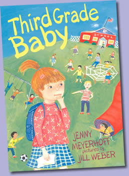 Third Grade Baby by author Jenny Meyerhoff