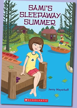 Sami's Sleepaway Summer by author Jenny Meyerhoff